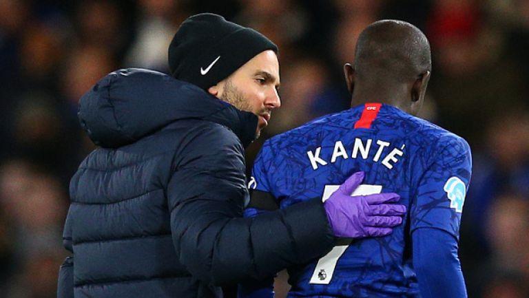 Н'Голо Канте не поднови тренировки с Челси, клубът го подкрепи