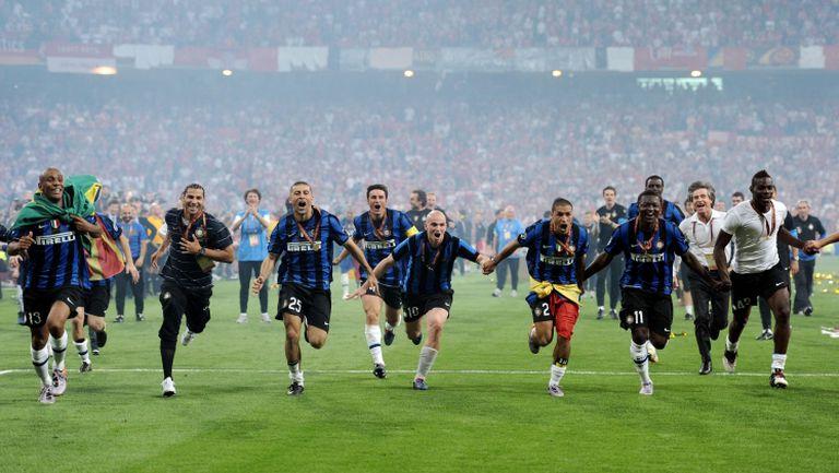 На този ден – Интер печели Шампионска лига и постига требъл