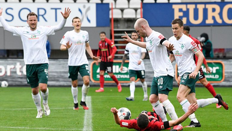 Фрайбург - Вердер (Бремен) 0:1