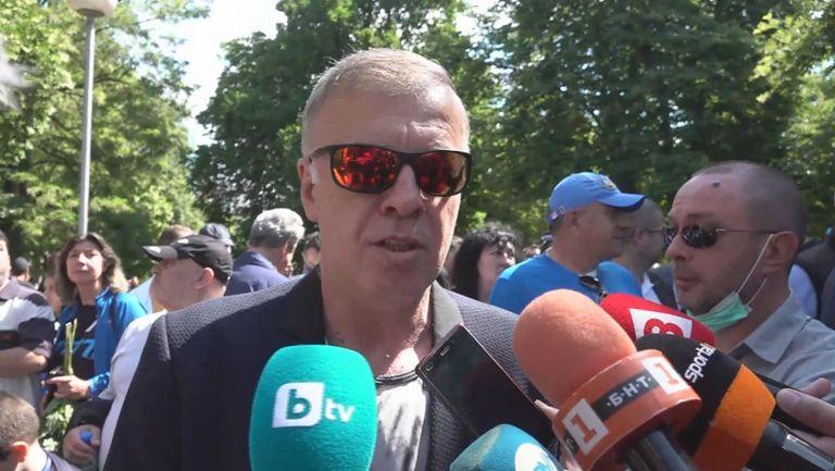 Сираков: Легитимиран съм от цялата синя общност, ще дам пресконференция