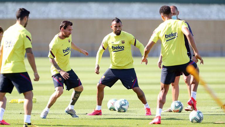 Барселона продължава да се готви за подновяването на шампионата