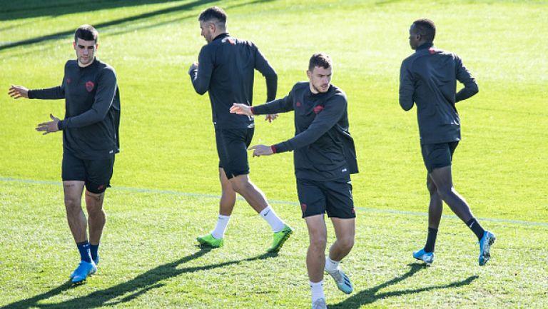 Рома тренира вече на групи