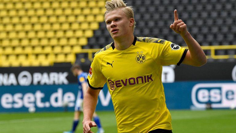 Холанд и Санчо пропуснаха тренировка на Дортмунд