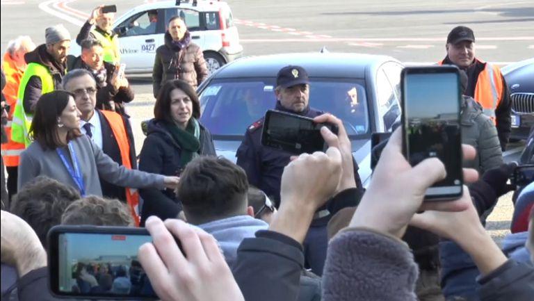 Посрещнаха Златан като герой в Милано