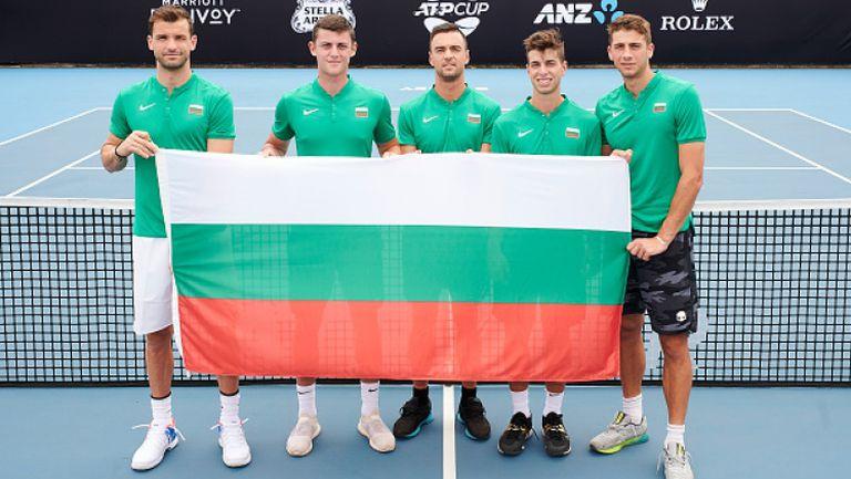 Григор Димитров изведе българския отбор на ATP Cup в Австралия