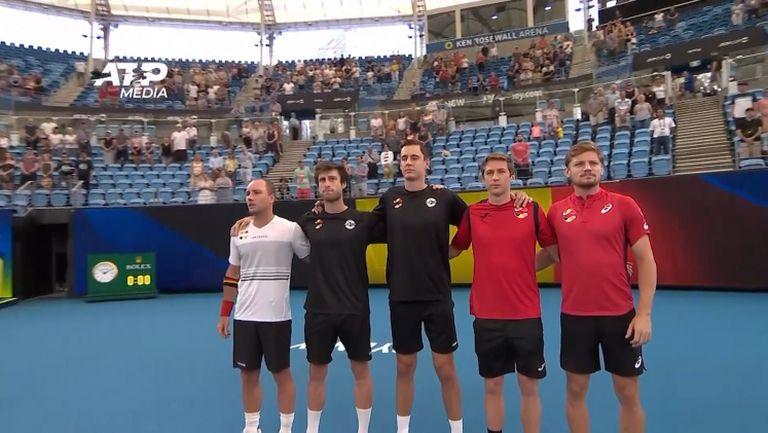 Белгия с категорична победа над Молдова за ATP Cup