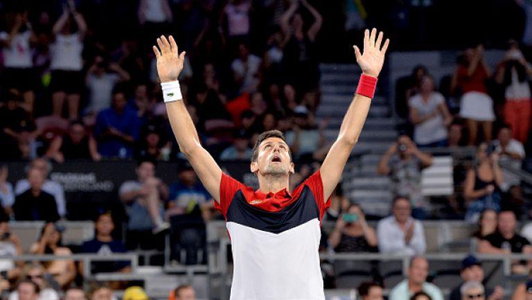 Джокович донесе първа победа на Сърбия на ATP Cup