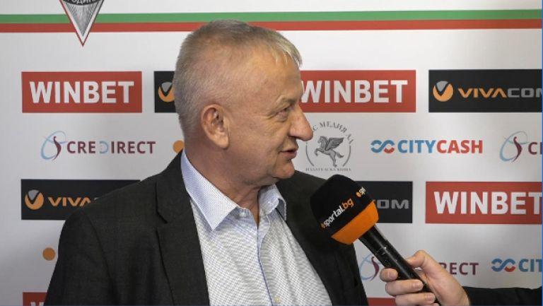 Крушарски: Ще има нови играчи, но нямам представа кои са те