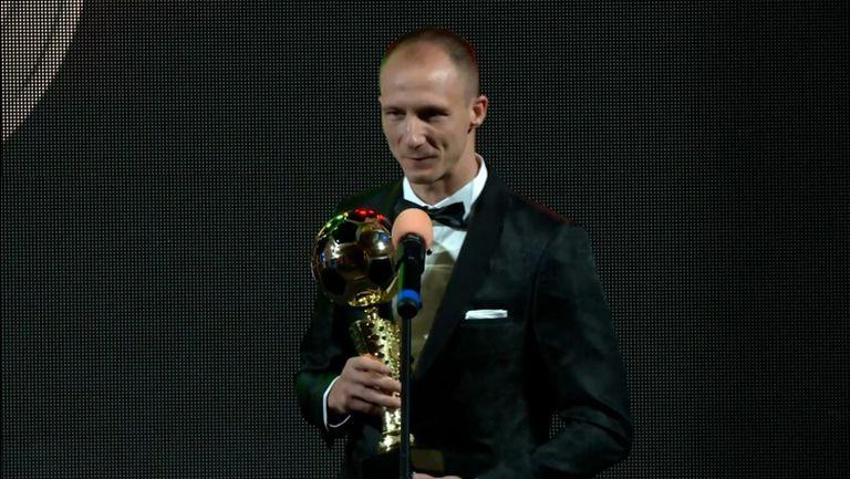Недялков спечели приза за най-добър защитник