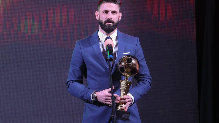 Димитър Илиев е №1 сред нападателите на България за 2019
