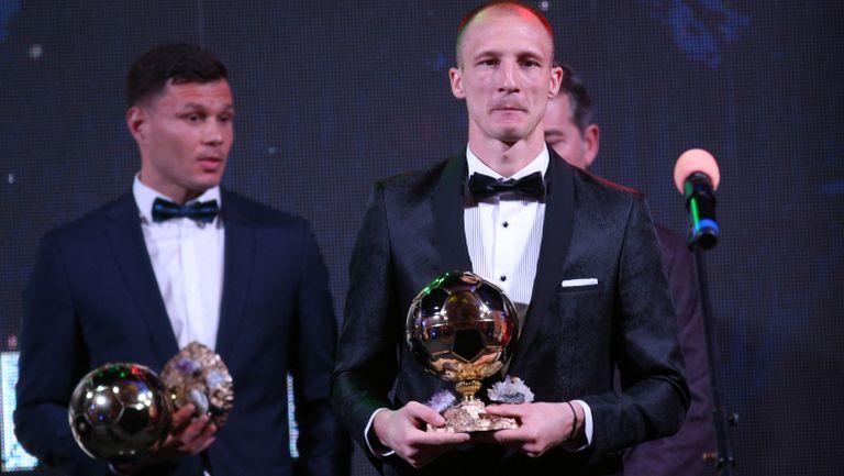 Антон Недялков втори в анкетата за Футболист на годината