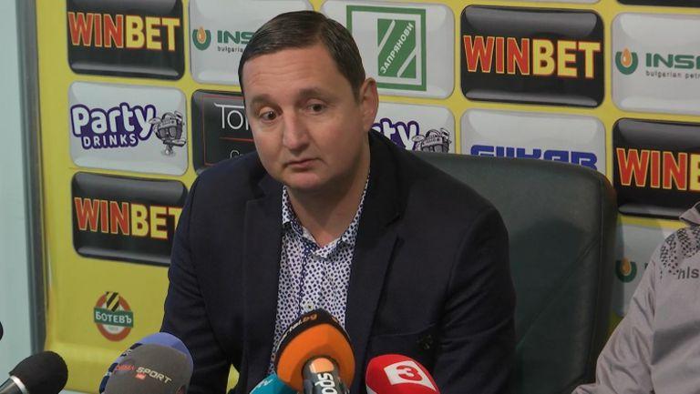 Асен Караслалов: Неделев и Димитров остават в Ботев