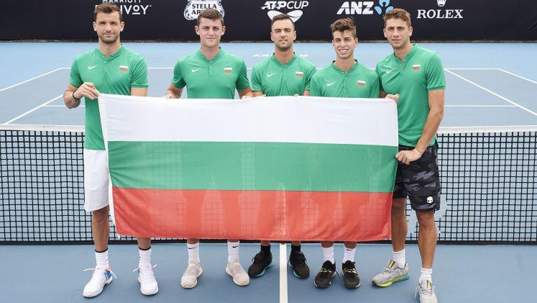 България не успя да продължи напред за ATP Cup