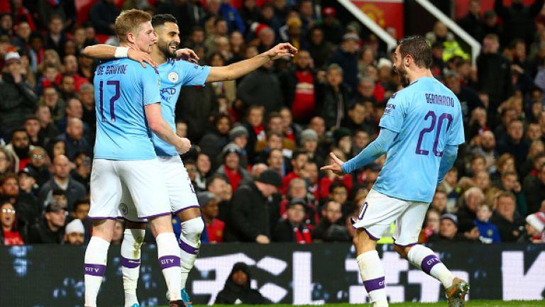 Манчестър Юнайтед - Манчестър Сити 1:3