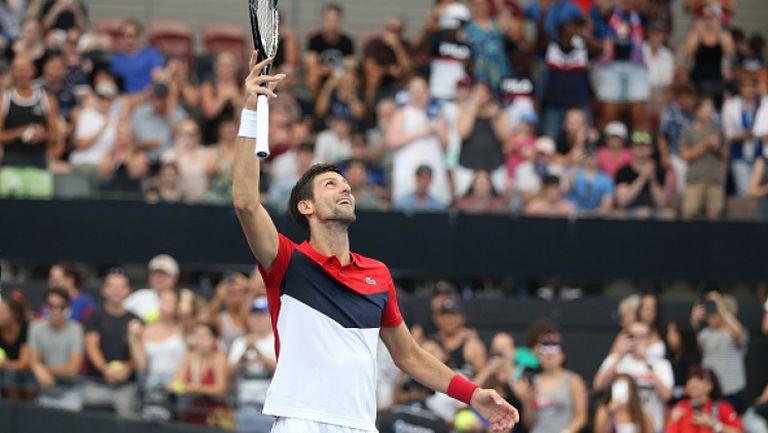"""Нов успех на Джокович прати Сърбия на върха в група """"А"""" на ATP Cup"""