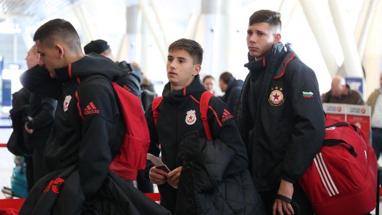 ЦСКА - София се отправи към Анталия