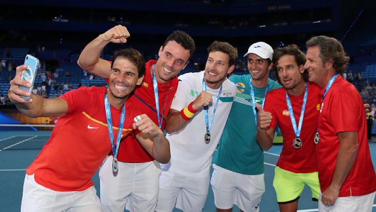 Испания се класира за финала на ATP Cup