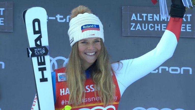 Първа победа за Зутер в Световната купа по ски-алпийски дисциплини