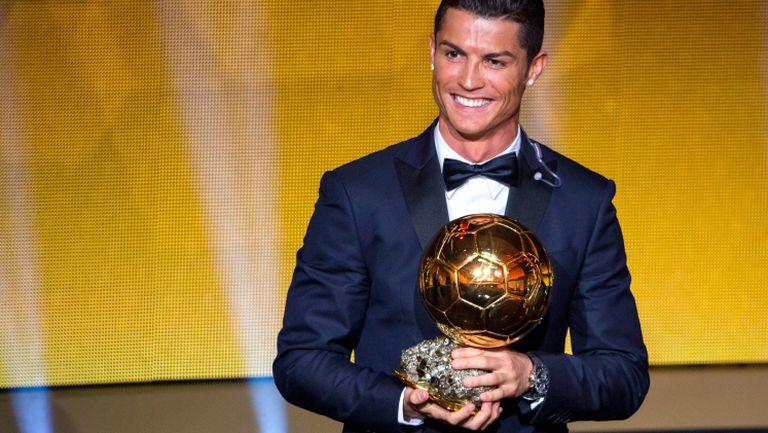 """На този ден – Втора поредна """"Златна топка"""" за Кристиано"""