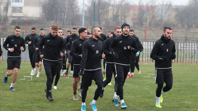 Славия с първа тренировка за 2020 година