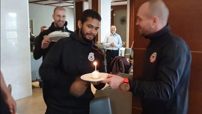 Евандро празнува в Анталия с ЦСКА-София