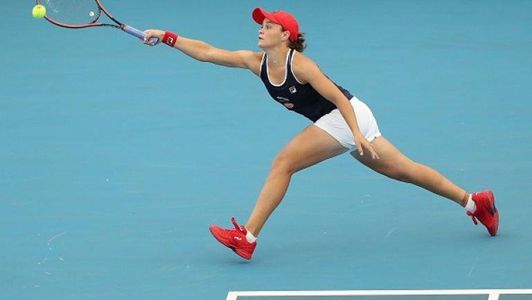 Барти преодоля Павлюченкова и се класира за четвърфиналите в Аделаида