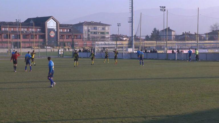 Димитър Тонев заби петия гол за Ботев срещу Марица