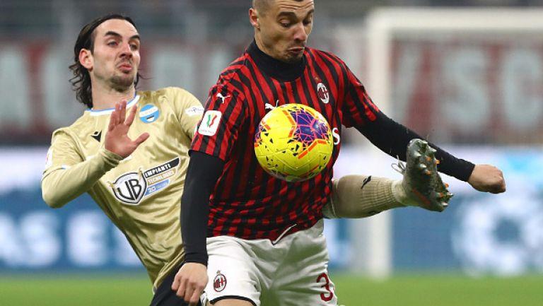 Милан - СПАЛ 2013 3:0