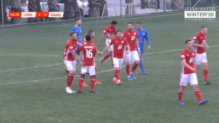 Раул Албентоса направи 3:0 за ЦСКА-София