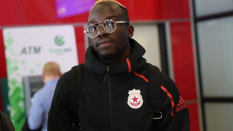 Али Соу: Играч съм на ЦСКА, искам да остана тук