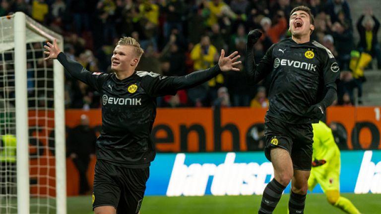 Впечатляващ дебют за Холанд в Дортмунд