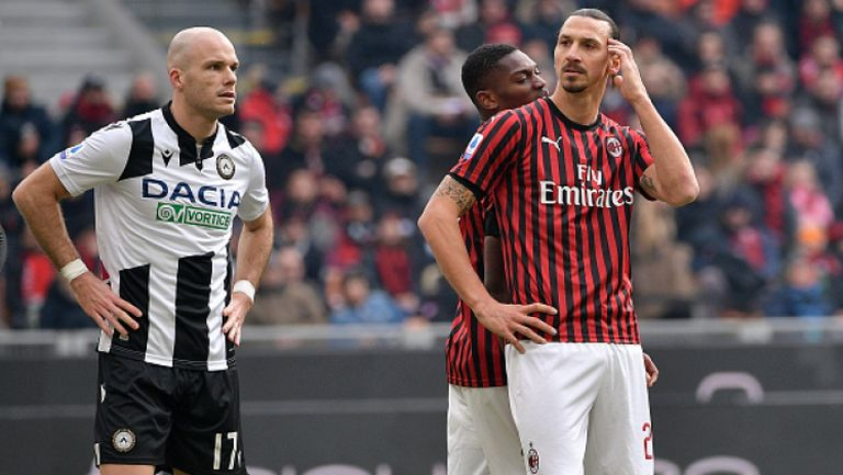 Страхотен Анте Ребич измъкна Милан срещу Удинезе