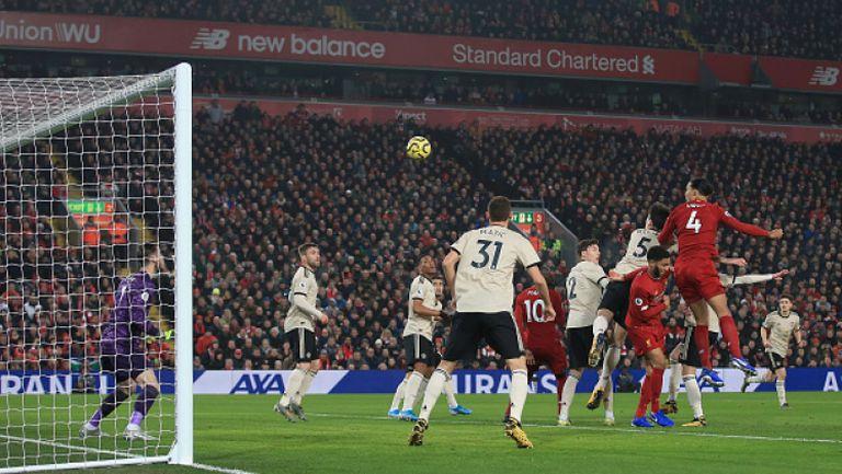 Ливърпул - Манчестър Юнайтед 2:0