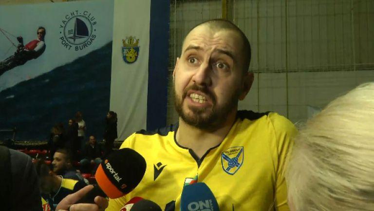 Георги Братоев: Мачът беше труден, доволни сме, че купата остава в Пазарджик