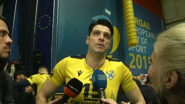 Тодор Алексиев: Имахме доста премеждия, за да стигнем дотук
