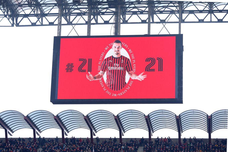 Златан Ибрахимович се завърна за Милан срещу Самп
