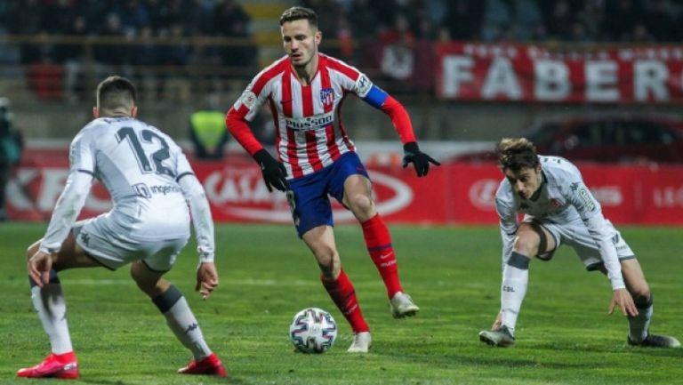 Леонеса - Атлетико Мадрид 2:1