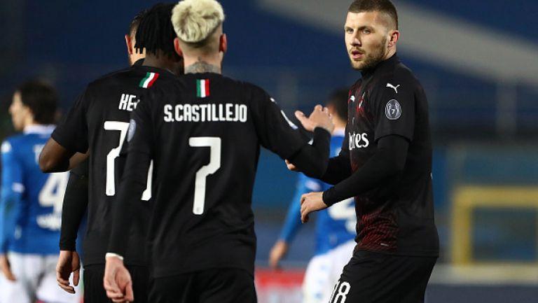 Милан победи Бреша с гол на Ребич