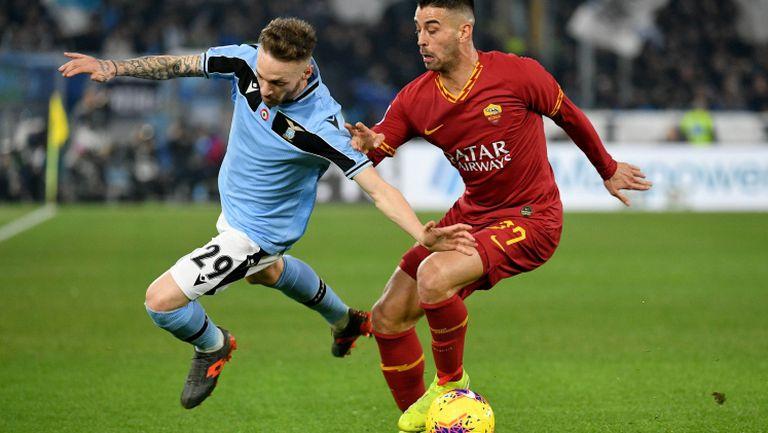 Рома спря серията на Лацио