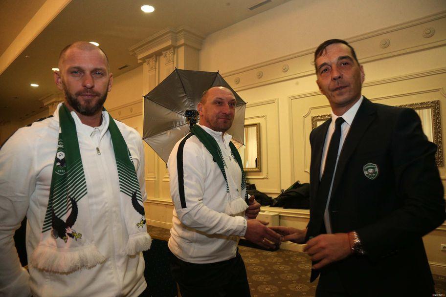 Лудогорец представи Павел Върба и екипа му