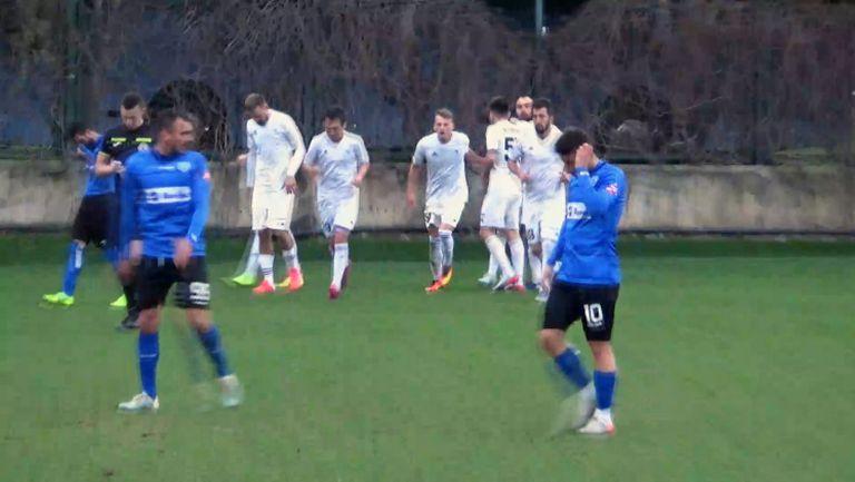 Жомаханов възстанови паритета с втория гол за Окжетпес срещу Черно море