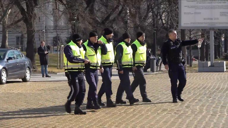 Полицията е заела позиция пред парламента за протеста на феновете на Левски