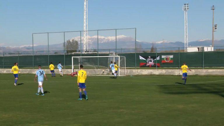 Анте Аралица откри за Локомотив (Пд) срещу Арка (Гдиня)