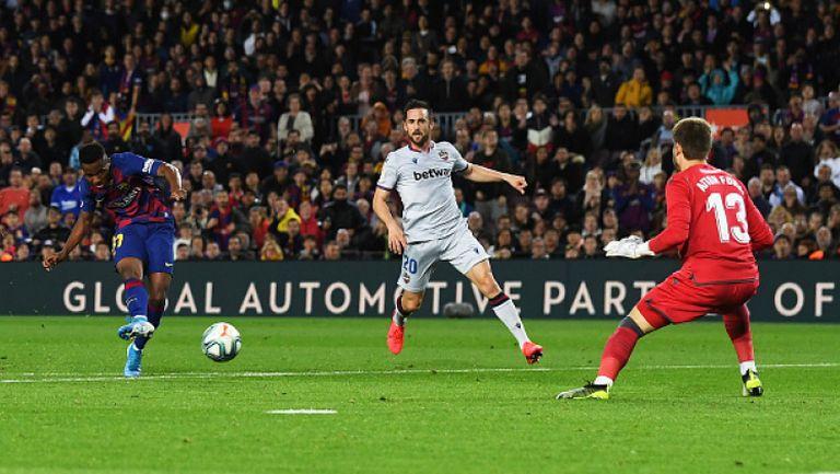 Барселона - Леванте 2:1