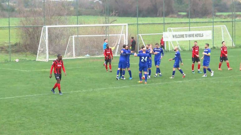 Цветков вкара втория гол за Монтана във вратата на румнънския тим