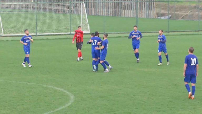 Румен Георгиев направи резултата 3:0 за Монтана срещу Решицa