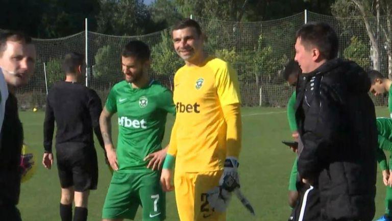 Владо Стоянов титуляр за Лудогорец срещу Ахмат