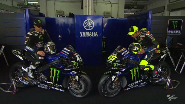 Ямаха представи своя отбор за MotoGP
