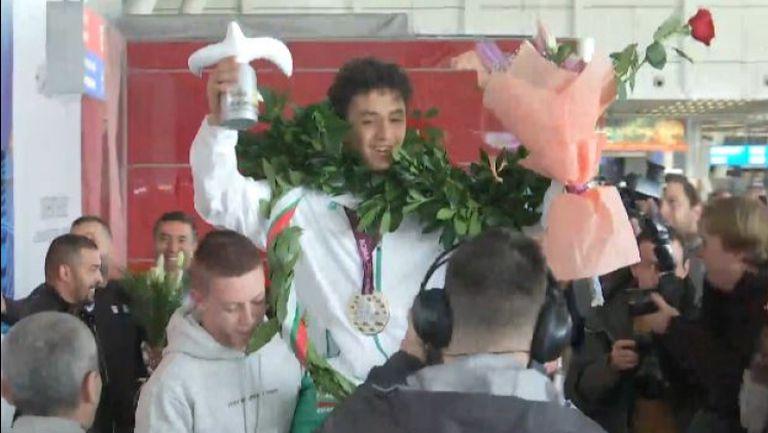 Шампионско посрещане за Едмонд Назарян