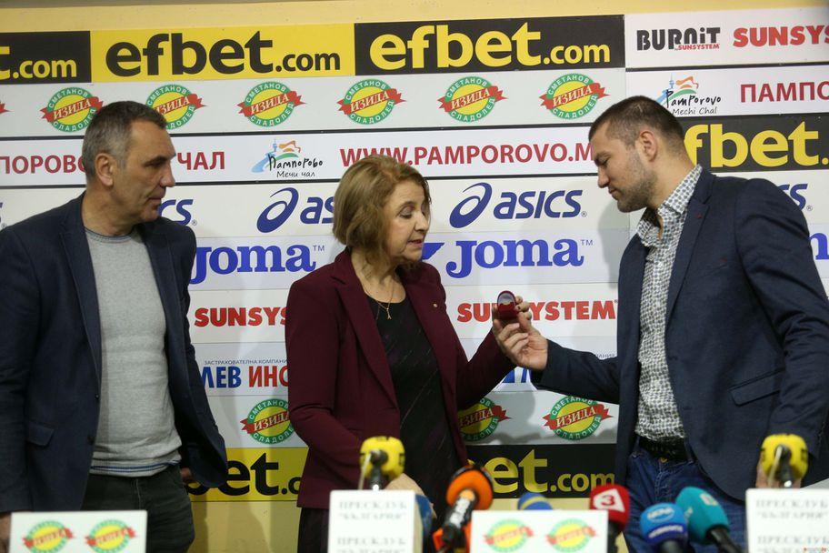 Тервел Пулев спортист на месец декември